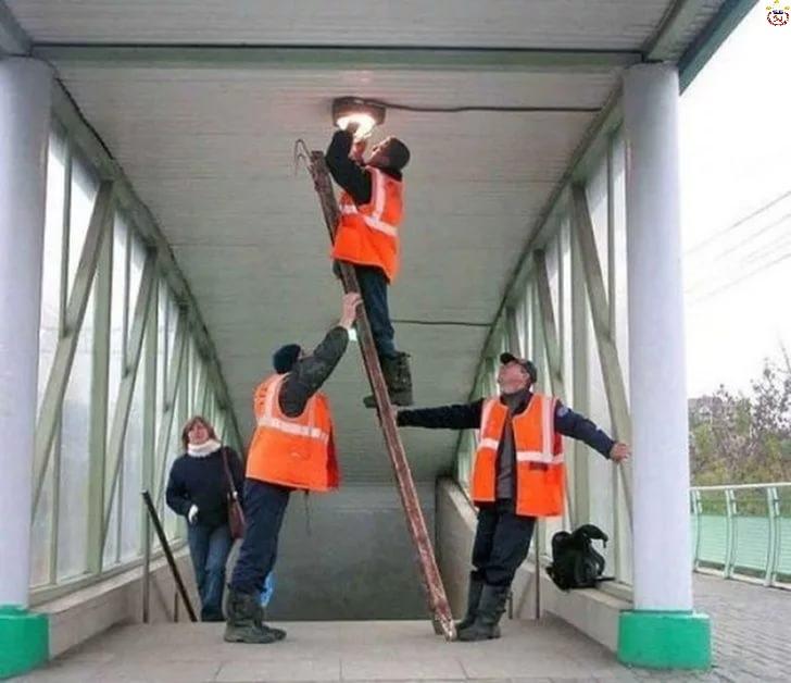 Инструкции по охране труда при работе на лестнице